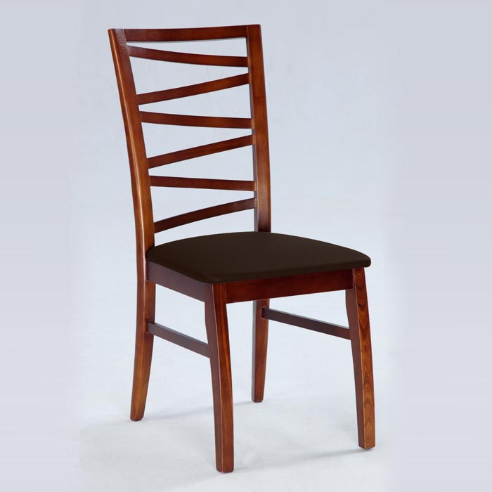 Cheri Side Chair in Dark Oak - CI-CHERI-SC
