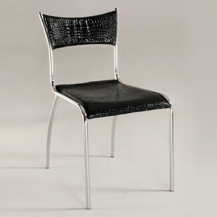 Daisy Side Chair with Tube Legs