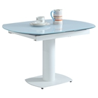 Grace Extendable Dining Table - White