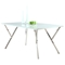 Jade White Glass Top Dining Table - CI-JADE-DT