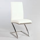 Jade Contemporary Side Chair with Z-Shaped Base