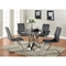 Janet Round Dining Table - Gray - CI-JANET-DT