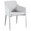Katie Arm Chair - Fabric, Gray