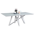 Katie Rectangular Dining Table - Gray