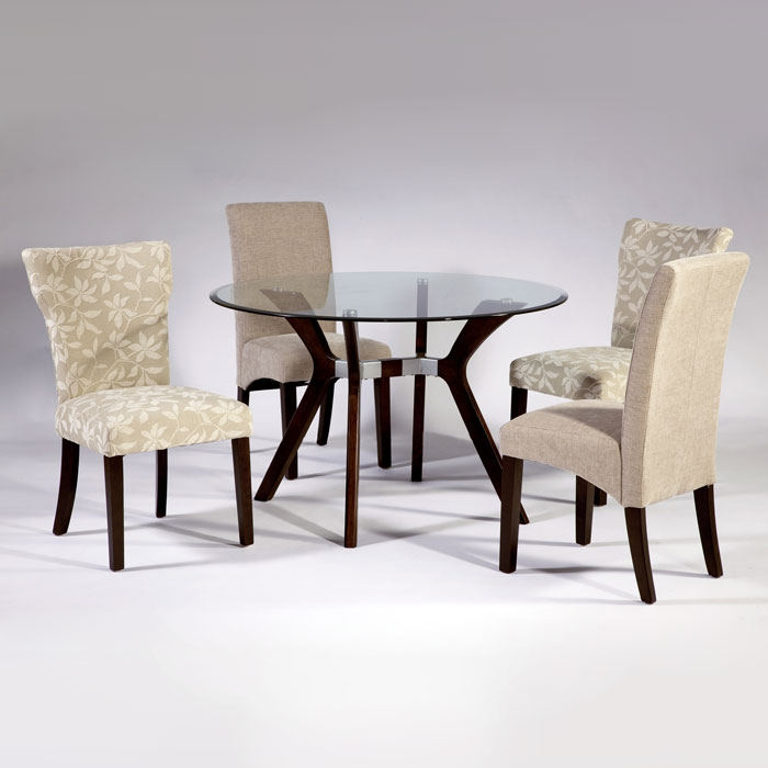 Luisa 5 Piece Dining Set - Round Top Table