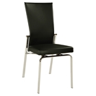 Molly Adjustable Back Dining Chair - Black