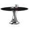 Nadine Round Dining Table - Black - CI-NADINE-DT