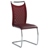 Nadine Side Chair - Red (Set of 2)