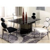 Oprah 5 Piece Contemporary Dining Set - Marble Top Table