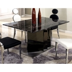 Oprah Dining Table - Marble Top, Two Tone Base
