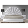 Paris Platform Bed - Gloss White