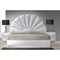 Paris 4 Pieces Bedroom Set - Gloss White - CI-PARIS-4PC-BED-SET
