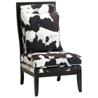 Murray Black and White Accent Chair