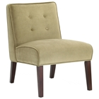 Madera Taupe Microfiber Lounge Chair