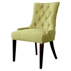 Madelyn Chair - Kiwi, Button Tufted