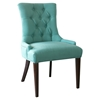 Madelyn Chair - Caribbean, Button Tufted