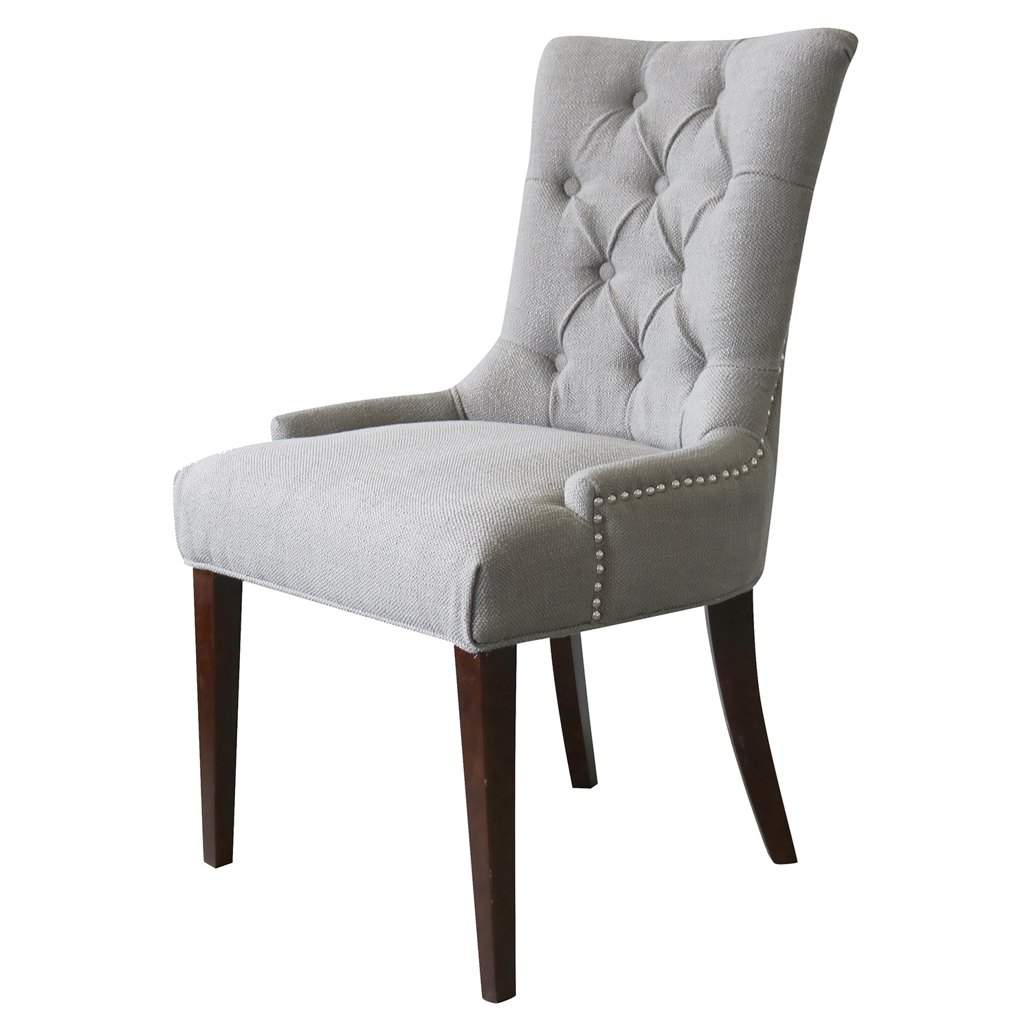 Madelyn Chair - Granite, Button Tufted - CP-200-05