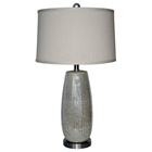 Rouen Silver Ceramic Table Lamp