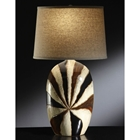 Sunburst Ceramic Table Lamp