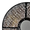 Cassandra Metal Wall Art with Round Mirror (Set of 2) - CVC-CVIWA006