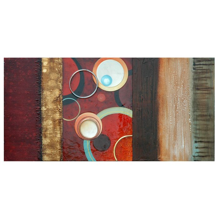 Circles in Motion I Painting in Gallery Wrap Canvas