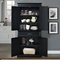 Parsons Pantry - Adjustable Shelves, Black - CROS-CF3100-BK
