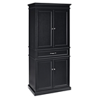 Parsons Pantry - Adjustable Shelves, Black