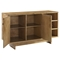 Roots Sideboard - Adjustable Shelving, Natural - CROS-CF4203-NA