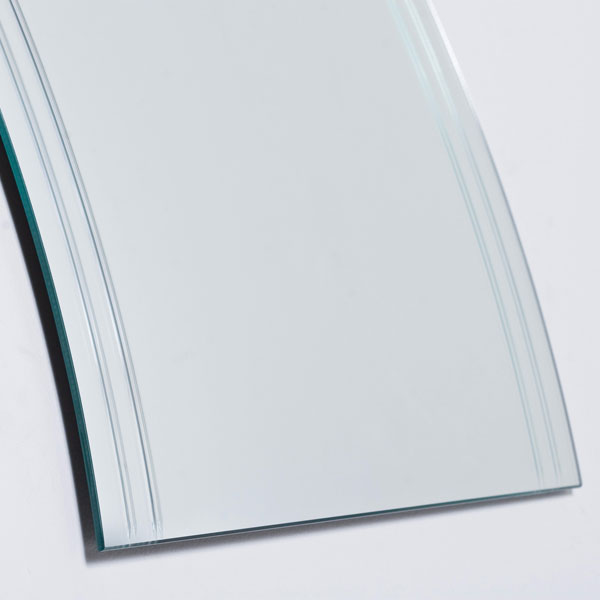 Modern Frameless Wave Wall Mirror - SSM1001 - DWM-SSM1001