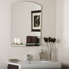 Arch Frameless Mirror