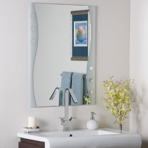 Fabulous Modern Frameless Bathroom Mirror - DWM-SSM182