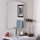 Super Modern Frameless Wall Mirror