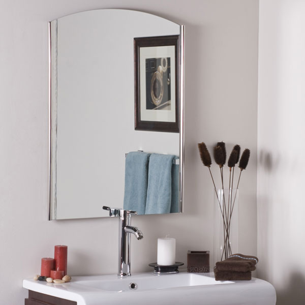 Super Modern Frameless Wall Mirror - DWM-SSM45