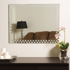 Modern Frameless Wall Mirror