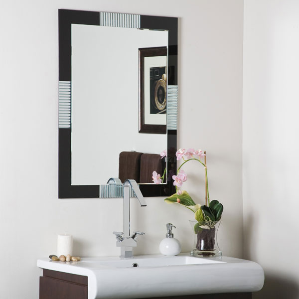 Francisco Large Frameless Wall Mirror - SSM525 - DWM-SSM525