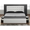 Marlowe Leather Platform Storage Bed in White - DCS-2310-WHT