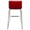 Bar Stool - Red, Chrome Base (Set of 2) - DS-A31STRE