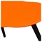 Beacon Cocktail Table - High Gloss Orange Top - DS-BEACONCTOR