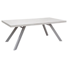 Carrera Rectangular Dining Table - White