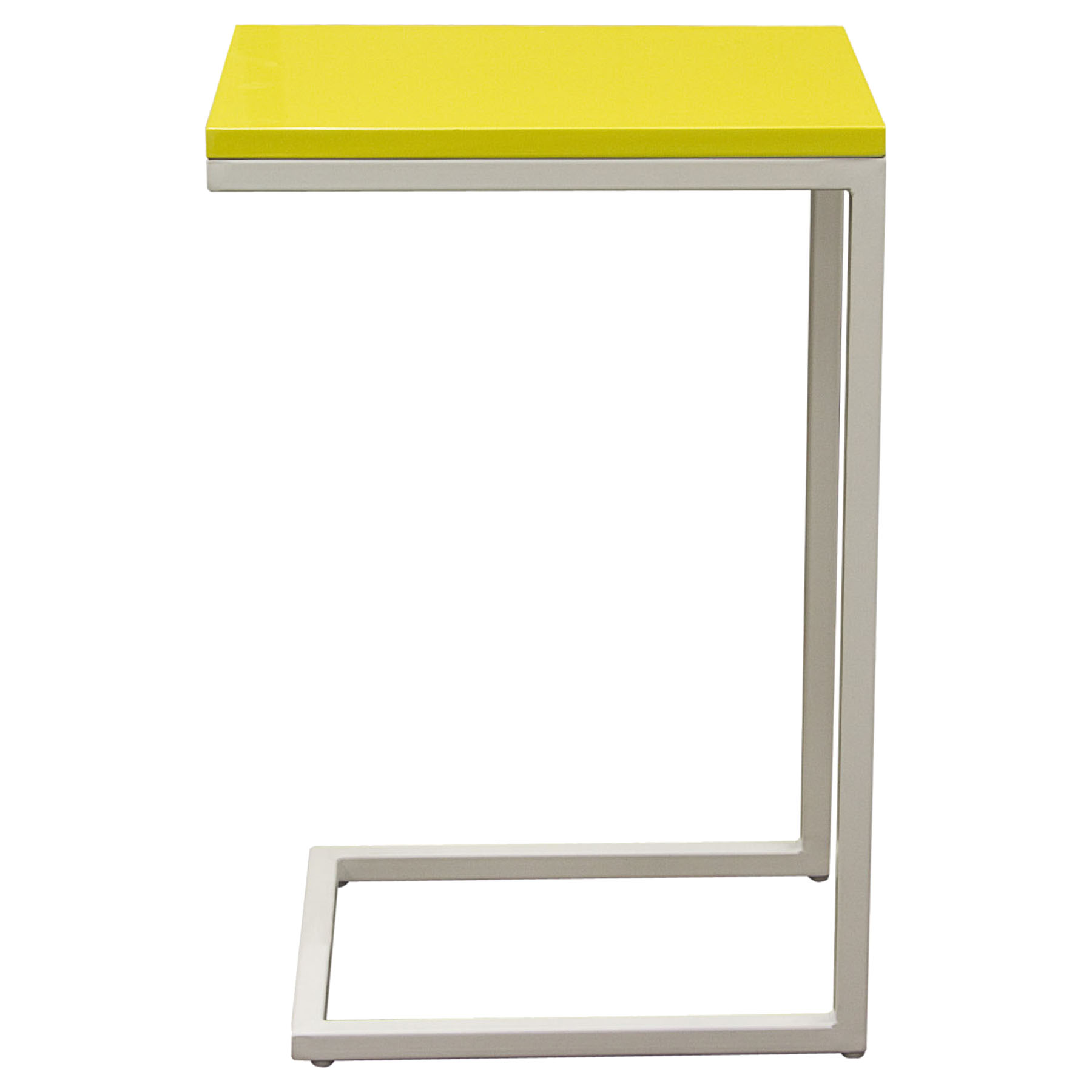 Edge Rectangular Accent Table - Yellow - DS-EDGESTYL