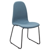 Finn Dining Chair - Denim Blue Fabric (Set of 2)