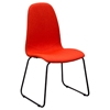 Finn Dining Chair - Coral Fabric (Set of 2)