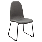 Finn Dining Chair - Gray Fabric (Set of 2)