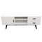 Focus Entertainment Cabinet - 2 Drawers, 1 Door, White - DS-FOCUSETWH