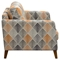 Keppel Patterned Fabric Armchair - Hawaiian Sunset - DS-KEPPELCHHSPT