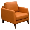 Keppel Solid Fabric Armchair - Hawaiian Sunset