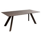 Matrix Rectangular Dining Table - Chocolate