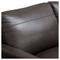 Omega Full Leather Sofa - Dark Chocolate - DS-OMEGASODC