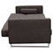 Opus Convertible Sofa - Tufted, Chocolate - DS-OPUSSOCH
