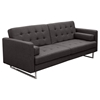 Opus Convertible Sofa - Tufted, Gray
